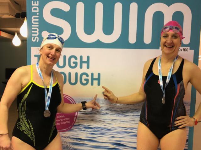 Hamburg 100x100m-Schwimmen